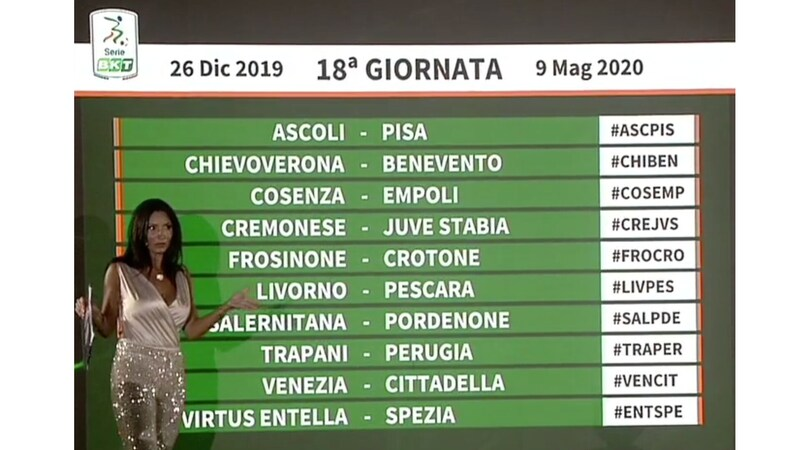 Calendario Entella.Serie B Il Calendario Dice Entella Spezia Il 26 Dicembre